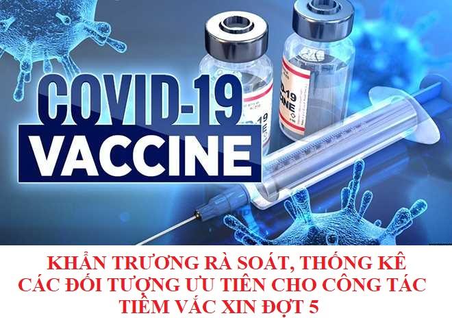 Trung tâm Y tế Hữu Lũng khẩn trương rà soát, thống kê các đối tượng được tiêm cho chiến dịch tiêm vắc phòng Covid – 19 đợt 5.