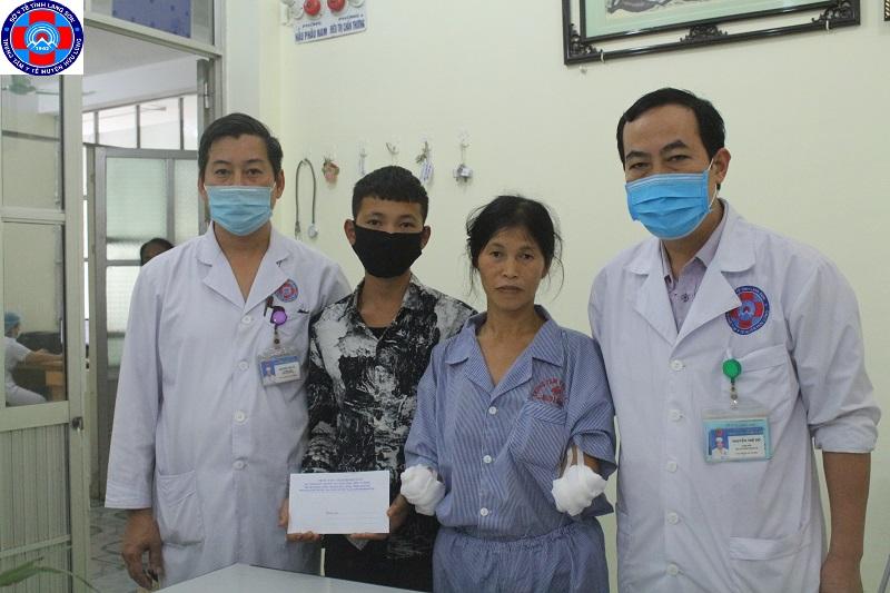 Phát huy truyền thống tương thân tương ái dành cho bệnh nhân có hoàn cảnh khó khăn đang điều trị tại Trung tâm Y tế Hữu Lũng