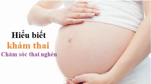 Hiểu biết về khám thai – Chăm sóc thai nghén