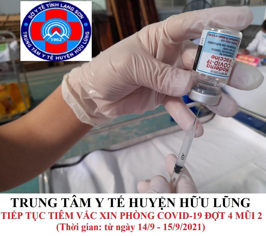Tiếp tục thực hiện chiến dịch tiêm chủng vắc xin phòng Covid -19